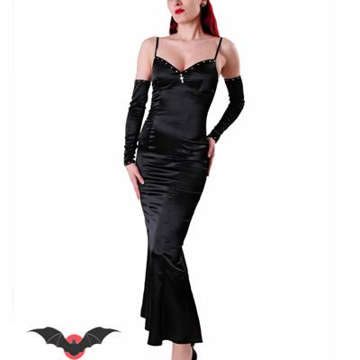 bc0230b81 Vestido gotico negro